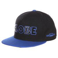 Бейсболка Globe Sinclair Flat Brim Black