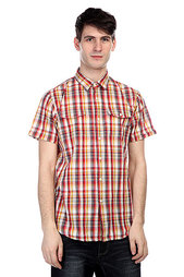 Рубашка в клетку Globe Swanston Shirt Ketchup