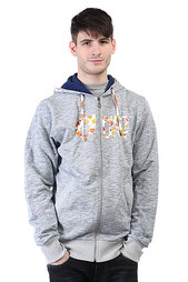 Толстовка Picture Organic Basement Sweat Zip Dark Blue Logo Leaf