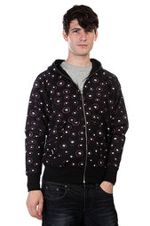 Толстовка Globe Bull Eyes Zip Hood Sweat Black