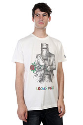Футболка Globe Locals Only Tee Dirty White