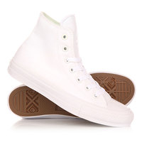 Кеды кроссовки высокие Converse Chuck Taylor All Star Ii Hi White
