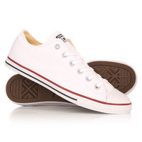Кеды кроссовки низкие Converse Chuck Taylor All Star Lean White