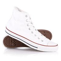 Кеды кроссовки высокие Converse All Star High Optic White