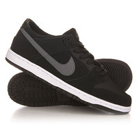 Кроссовки Nike Dunk Low Pro IW Black/Light Graphite/White