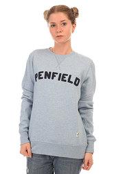 Толстовка свитшот женская Penfield Brookport Crew Sweat Sky