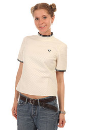 Топ женский Fred Perry Woven Turtle Neck Top Beige