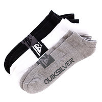 Носки Quiksilver Invisible Pack Assorted (3-Pack)