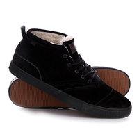 Кеды кроссовки утепленные Quiksilver Heyden Fg Solid Black