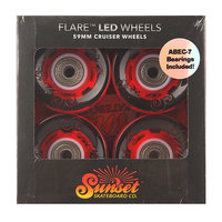 Колеса для скейтборда для лонгборда Sunset Cruiser Wheel With Abec7 Merica 78A 59 mm