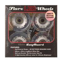 Колеса для скейтборда для лонгборда Sunset Long Board Wheel With Abec9 White 78A 65 mm