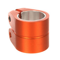Зажимы Phoenix Smooth Double Bolt Clamp 1.5 Hiten M8 Allen Bolt Ano 021 U Orange