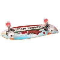 Скейт мини круизер Sunset California Bear Red/White 8.25 X 27.5 (70 см)