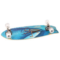 Скейт круизер Sunset Alders Complete Fish Logo Deck Cruiser Blue 9.75 x 31 (78.7 см)