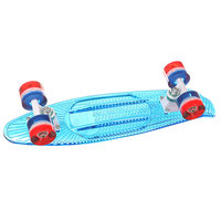 Скейт мини круизер Sunset Merica 22 Blue 5 x 22 (55.8 см)