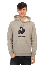 Толстовка кенгуру Le Coq Sportif Osr Po Hood Light Heather Grey