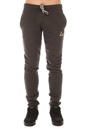 Штаны спортивные Le Coq Sportif Pant Bar Slim Unbr Dark Heather Grey