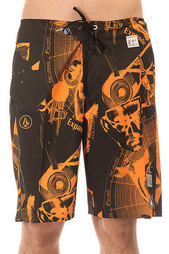 Шорты пляжные Volcom V6s Inverted Strange Black