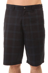 Шорты классические Volcom Frickin Plaid Short Dark Navy