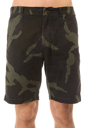 Шорты классические Volcom Mb Sawyer Short Beetle Derby Camo