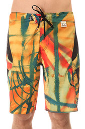 Шорты пляжные Volcom Annihilator Paintwash Curry