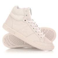 Кеды кроссовки высокие женские Le Coq Sportif Prestige Court Mid Lea Optical White