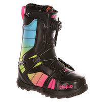 Ботинки для сноуборда женские Thirty Two Z Stw Boa Black/Pink/Green
