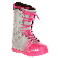 Ботинки для сноуборда женские Thirty Two Z Lashed Grey/Pink