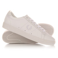 Кеды кроссовки низкие Fred Perry Spencer Leather White