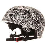 Шлем для скейтборда Bullet Ogsc Helmet All Over White