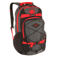 Рюкзак туристический Liquid Force Backpack Dlx Black/Grey/Red