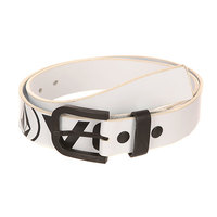 Ремень Volcom Le Strange Pu Belt White/Black