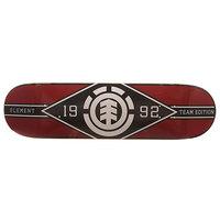 Дека для скейтборда для скейтборда Element Major League Burgundy/Black 31.625 x 8.25 (21 см)