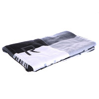 Полотенце Quiksilver Checkmate Towel Black/Grey/White