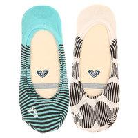 Носки низкие женские Roxy Sneakers Sunrise Dots White