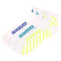 Носки средние Quiksilver Diagnal Stripe Qtr White