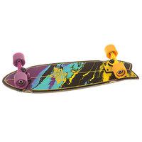 Скейт мини круизер Dusters Kosher Cruiser Yellow/Purple 8.75 x 28 (71.1 см)