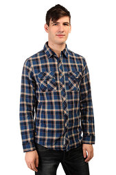 Рубашка в клетку Emerica Hard Luck Ls Flannel Navy