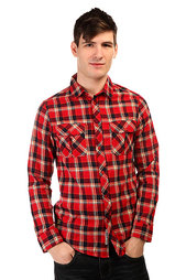 Рубашка в клетку Emerica Hard Luck Ls Flannel Red