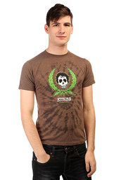 Футболка Etnies Weedy Tee Brown/Heather