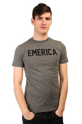 Футболка Emerica Standard Issue Tee Charcoal/Heather