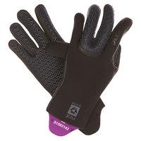 Перчатки (гидро) Mystic Jackson Semi Dry Glove Black
