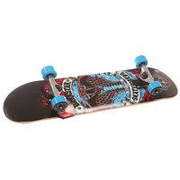 Скейтборд в сборе детский Darkstar S6 Python Youth Soft Wheel Mid Blue 29 x 7.25 (18.4 см)