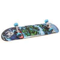 Скейтборд в сборе детский детский Darkstar S6 Fire Youth Mid Blue 29.25 x 7.25 (18.4 см)