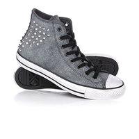 Кеды кроссовки высокие женские Converse Ct As Collar Studs Grey