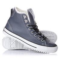 Кеды кроссовки утепленные Converse 144732 Gray