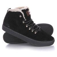 Кеды кроссовки утепленные Quiksilver Jax Black/Grey
