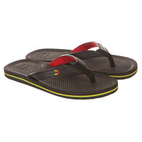 Вьетнамки Quiksilver Haleiwa Deluxe Sndl Xkrg Black/Red/Green
