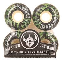 Колеса для скейтборда для скейтборда Darkstar Helm Green/White 99A 51 mm