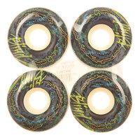 Колеса для скейтборда для скейтборда Blind Trip Out Snakeskin White/Blue 99A 53 mm